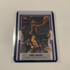 Kobe Bryant '08 Fleer Card